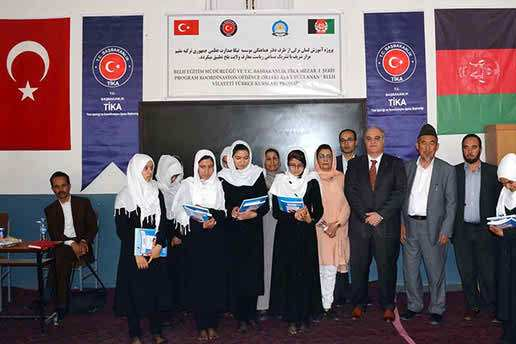 Turkish aid agency restores girls` school in Afghanistan