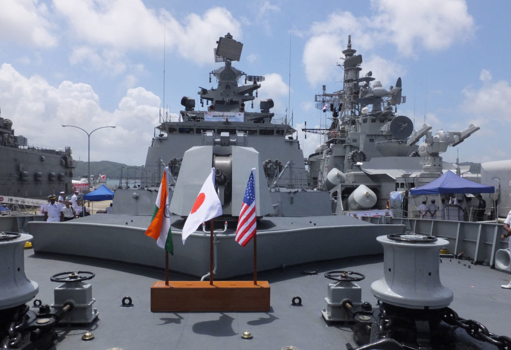 US terms India, Japan natural partners as naval exercises begin