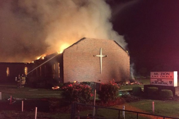 Muslim groups fundraise to restore black churches burned down in US