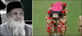 Abdul Sattar Edhi laid to rest after state funeral at Karachi National Stadium. Pakistan