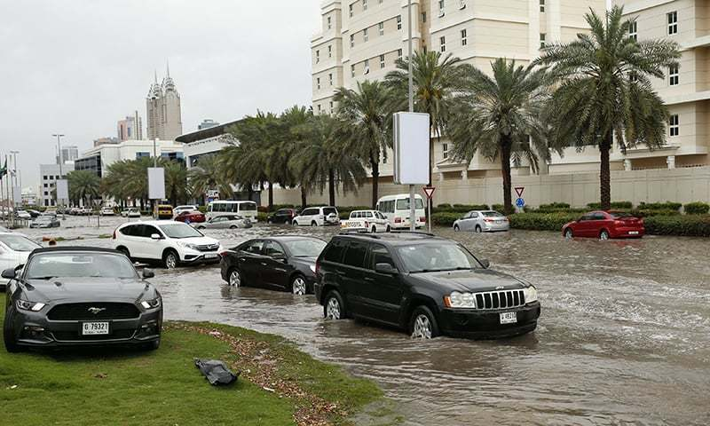 Havy Rain, thunderstorms to continue on Thursday in some areas of UAE