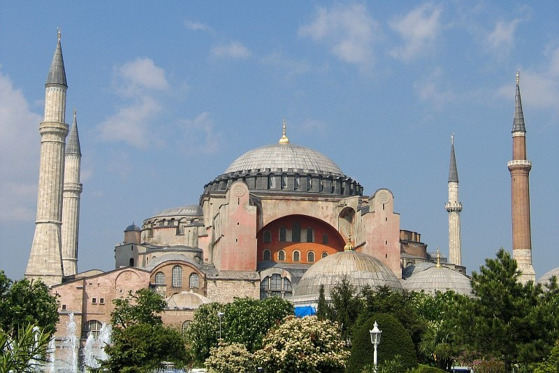 Turkey: Hundreds call for Hagia Sophia to be mosque again