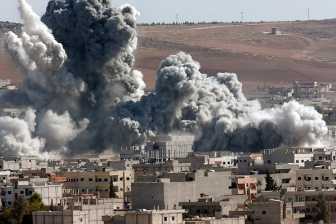 Russia accused of killing dozens of civilians in Syria