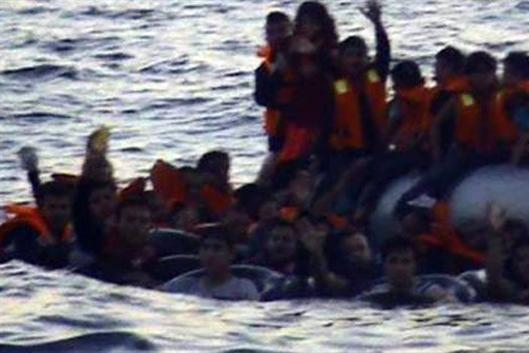 Video: Greek coast guard sinks Syrian refugee boat