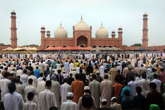 Muslims offer JUMA-TUL-WIDA prayer  today