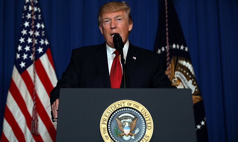 Trump launches missile strikes on Syria after chemical attack