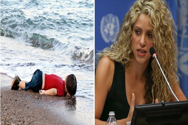 Pop Star Shakira: World should not ignore images of Aylan Kurdi