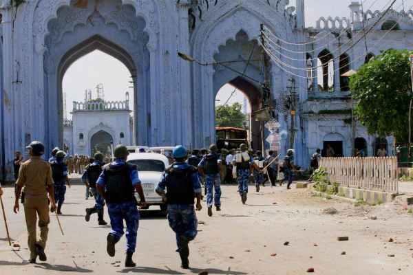 Indian district Muzaffarnagar tense after blast inside mosque