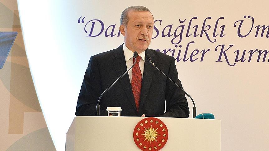 Turkish President Erdogan Stand against anti-Muslim behaviour in US