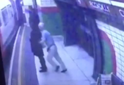 UK: Man pushes Muslim woman into oncoming underground train