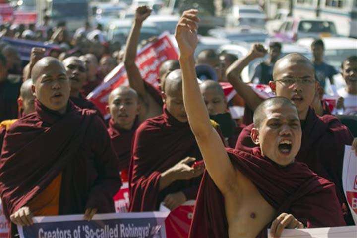 Buddhist extremists welcome Myanmar`s anti-Muslim laws