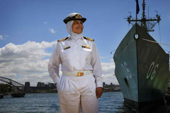 First Muslim Captain of Australian Navy Honored