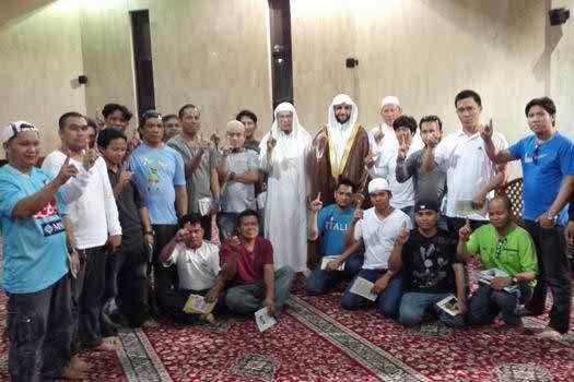 Filipino workers in Saudia revert to Islam