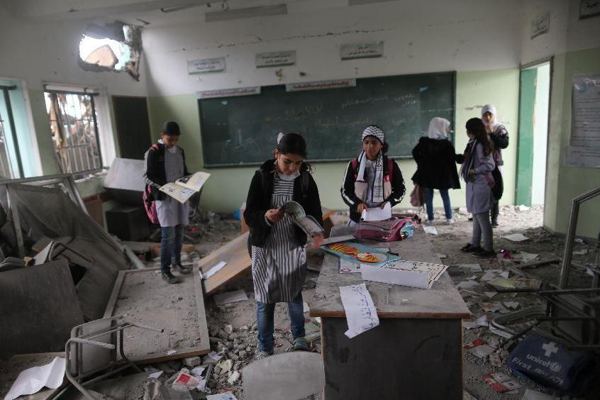 Last minute Funding for U.N aid agency averts Palestinian school closures