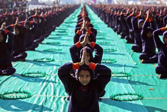 Mandatory Sun Worship Yoga Angers India Muslims