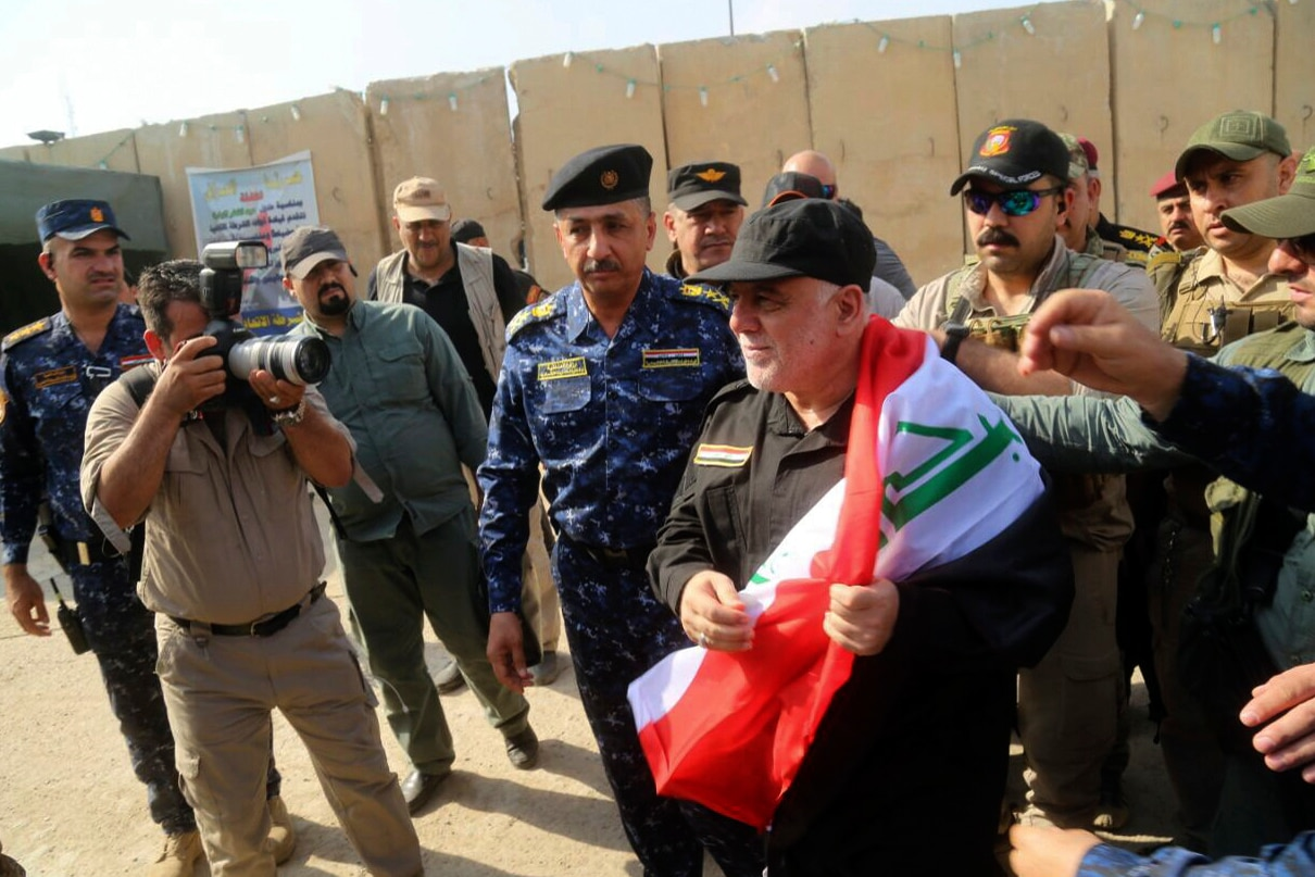 Sporadic clashes in Iraq Mosul after victory declaration