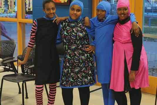 US Muslim Girls Design special Sports Uniform