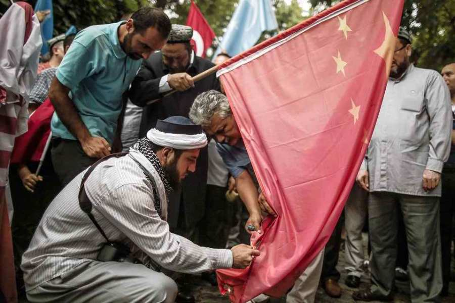 Exiles Uyghurs angered as China holds beer festival in Muslim region