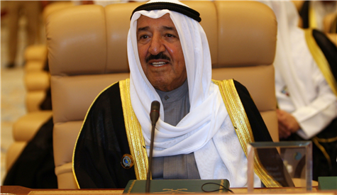 Middle East :Kuwait emir asks Muslim states to increase extremism fight