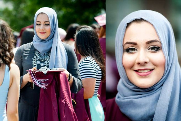 Muslim veiled student named best-dressed female at US high school