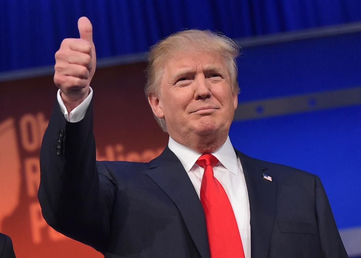 Triumphant Donald Trump elected US President