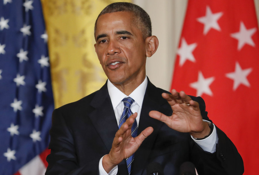 Obama says what he leaves behind is better than what he inherited