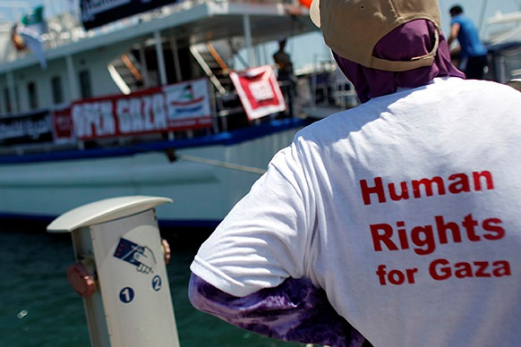 Israel intercepts Third Gaza Freedom Flotilla