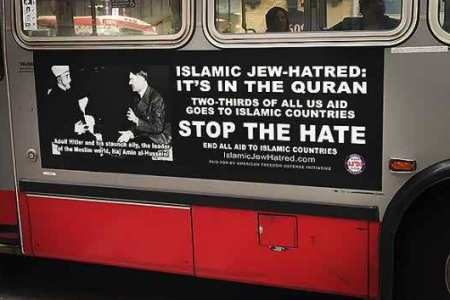 Anti-Islam Bus Ads raise Islamophobia in United States