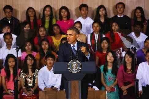 US President calls on Myanmar to end discrimination against Rohingya Muslims