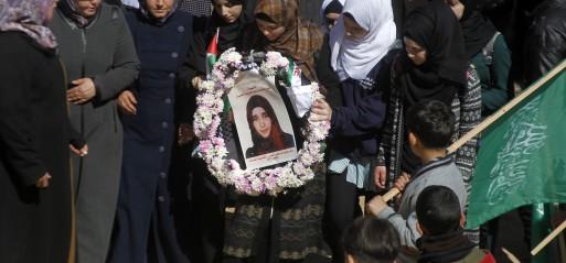 3 Palestinian teens shot dead in Israeli-occupied W Bank