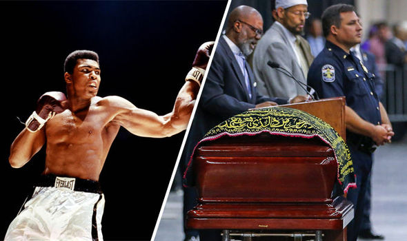 Thousands gather for funeral honouring Muhammad Ali