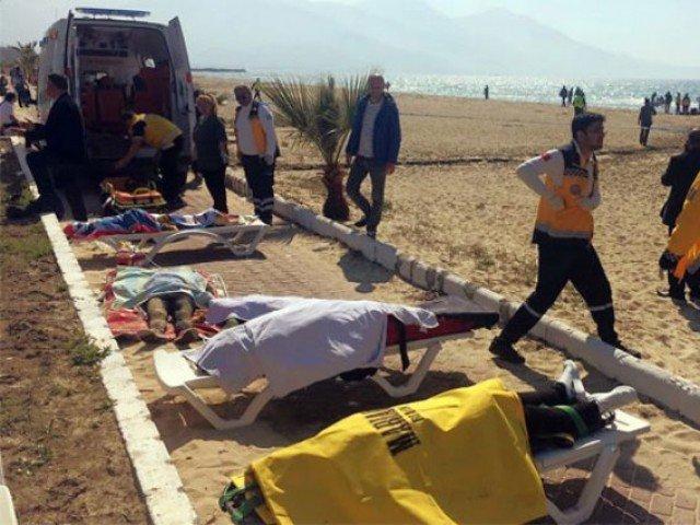 15 dead as migrant boat sinks off Turkey Black Sea coast