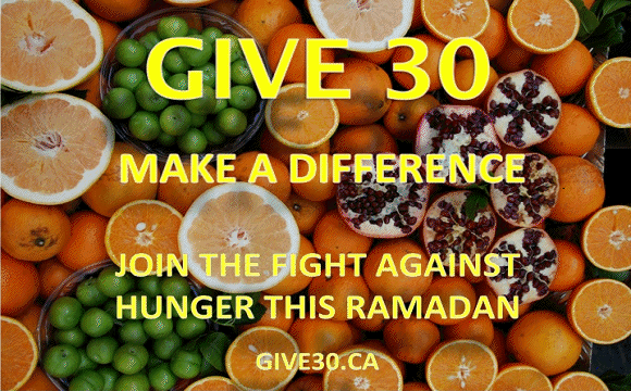 Canada Muslims group dedicate Ramadan to fight hunger