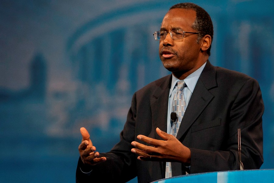 Presidential candidate Carson: U.S. shouldn`t elect a Muslim president