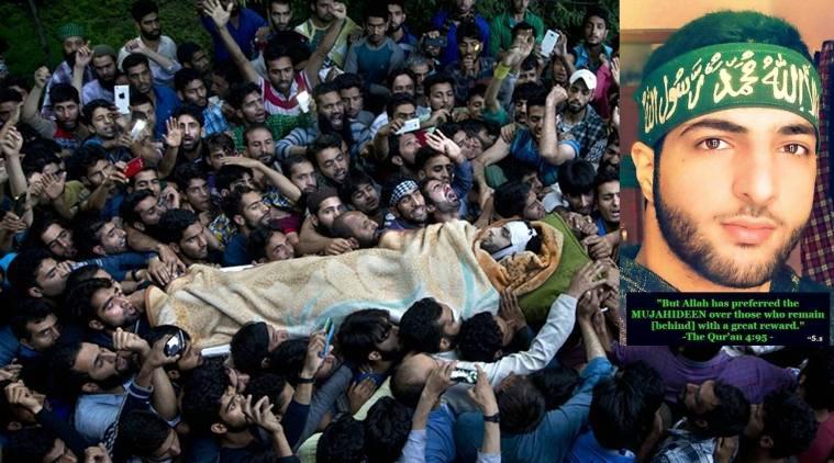 PM Pakistan expresses sorrow over killing of Burhan Wani, other Kashmiris