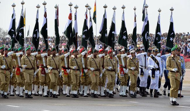 Full dress rehearsal today : Pakistan Day Parade
