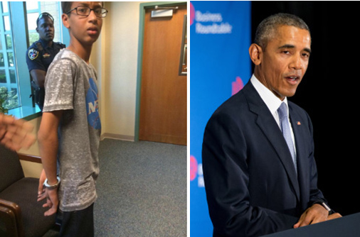 Muslim teen arrested for homemade clock gets White House invite