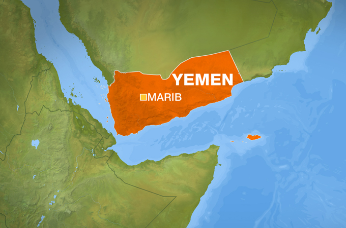 Attacks target Houthi fighters in Yemen