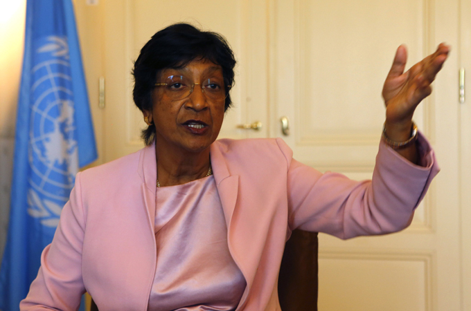 UN's Pillay slams Security Council 'failure'