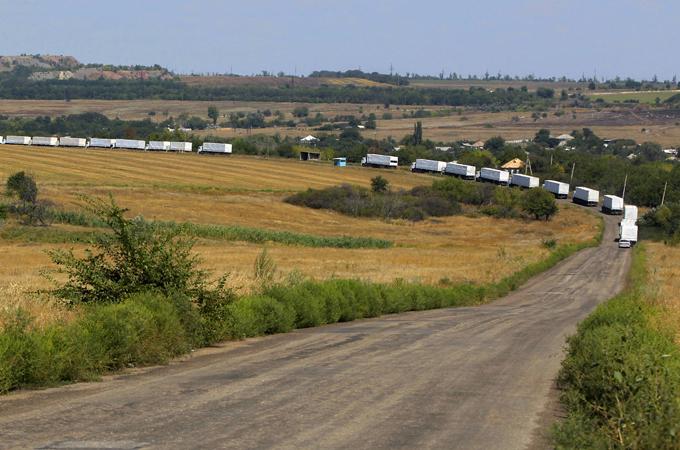US says Russia must pull Ukraine aid convoy