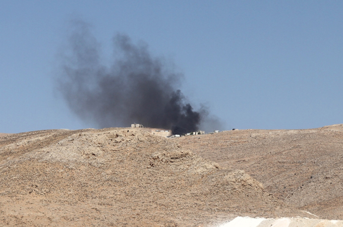 Lebanon army hits Syrian fighters in Arsal