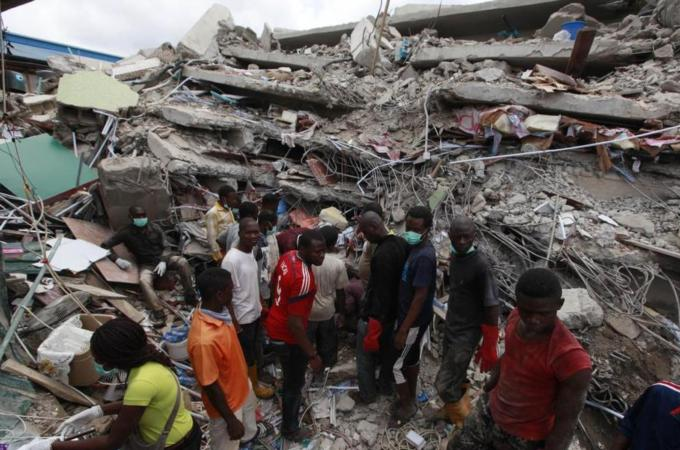 S Africans killed in Nigeria church collapse