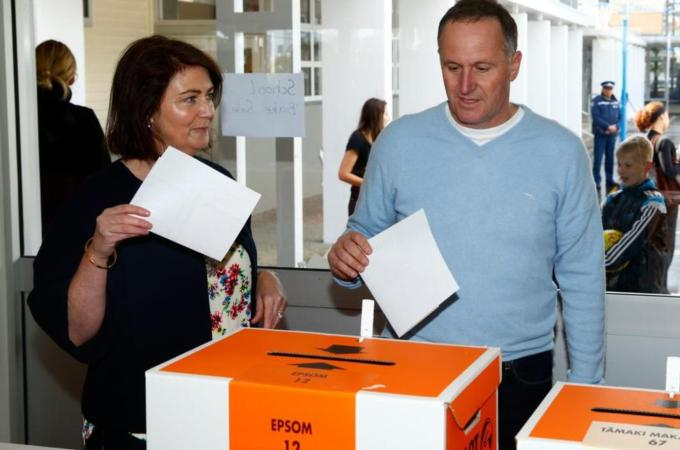 New Zealand votes for new parliament