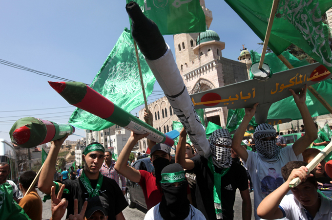 Hamas popularity 'surges after Gaza war'