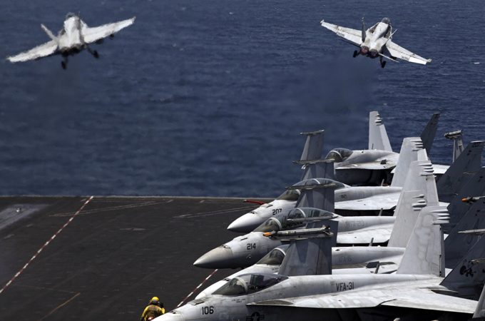US expands air campaign against IS group