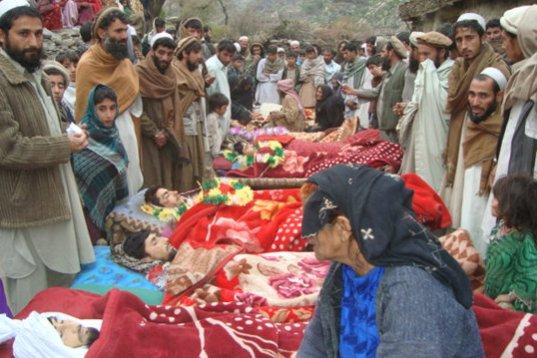US invasion in Afghanistan kills 100,000 people
