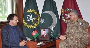 COAS, Afghan envoy discuss border issues