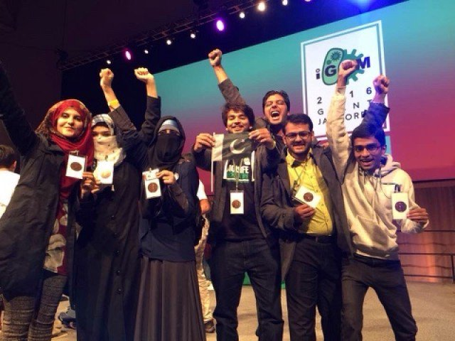 Pakistani biology students bag bronze medal at iGEM World Championship