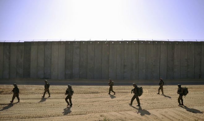 Israeli Mercenaries Awarded Contract for Apartheid Wall . Game on against Muslims