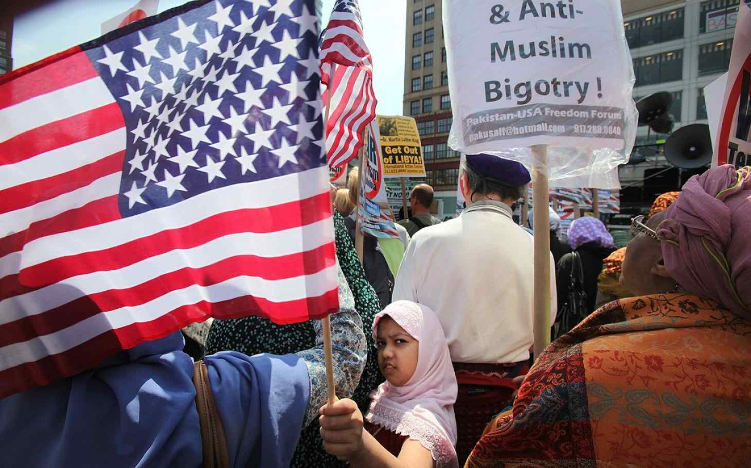 American Muslims demand protection after threat